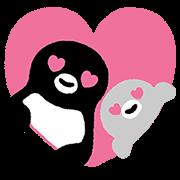 LINE無料スタンプ   Suicaのペンギン 飛び出す!スタンプ (1)
