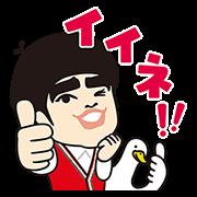 加藤諒×アフラックコラボスタンプ