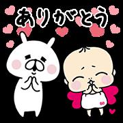 ゆるうさぎ × チョコラ♥ベイベー