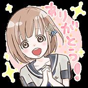 LINE無料スタンプ   流星イニシャライズ~1/5の恋人~ (1)