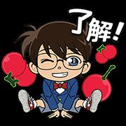 LINE ポコポコ × 名探偵コナン