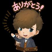 [LINE無料スタンプ] バブル2x魔法ワールド コラボ第2弾! (1)