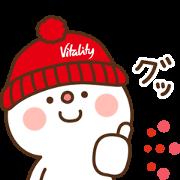 [LINE無料スタンプ] 住友生命「Vitality」 × だいふく (1)