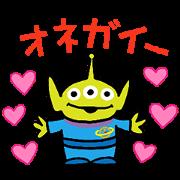 [LINE無料スタンプ] 【3月先行】トイ・ストーリー(ゆるポップ) (1)
