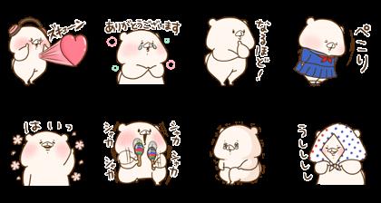 [LINE無料スタンプ] ともだちはくま×LINE MUSIC (2)
