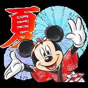 LINE無料スタンプ | 【6月限定】ミッキー&フレンズ(夏) (1)