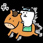 自分ツッコミくま × UMAJO コラボ