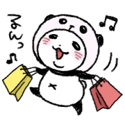 パンダinぱんだ × LINEチラシ