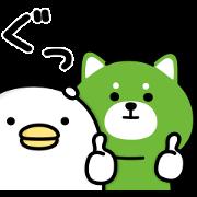 [LINE無料スタンプ] うるせぇトリ×レイマル (1)