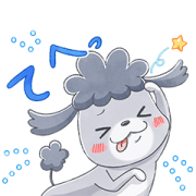LINEモバイル ×「犬と猫」アニメ版