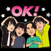 LINE無料スタンプ   マカロニえんぴつオフライン保存特典 (1)