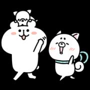 LINE無料スタンプ | ゆるくま×プロたん&サリー (1)