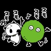 LINE無料スタンプ | スーモ×ごきげんぱんだ (1)