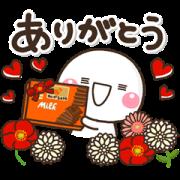 LINE無料スタンプ | カレ・ド・ショコラ~ありがとうを送ろう~ (1)