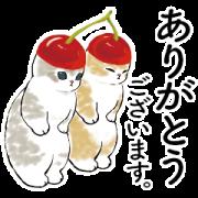 LINE無料スタンプ | にゃんこスイーツ! × LINEバイト (1)