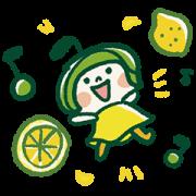 LINE無料スタンプ   井上誠耕園♪オリーブママ&オリーちゃん (1)