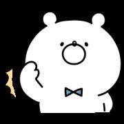 LINE無料スタンプ | ガーリーくまさん × トークCARE (1)