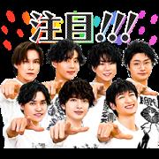 LINE無料スタンプ | Kis-My-Ft2オフライン特典第2弾 (1)