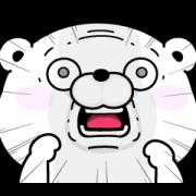 LINE無料スタンプ   うさぎ&くま100%×LINEスキマニ (1)