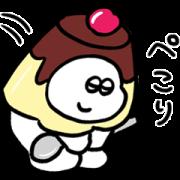 LINE無料スタンプ   おもち × LINE PLACE (1)