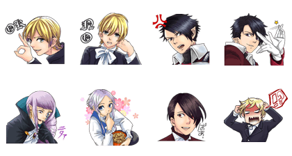 LINE無料スタンプ | 魔界王子 devils and realist (2)