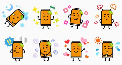LINE無料スタンプ | なっちゃん! (2)